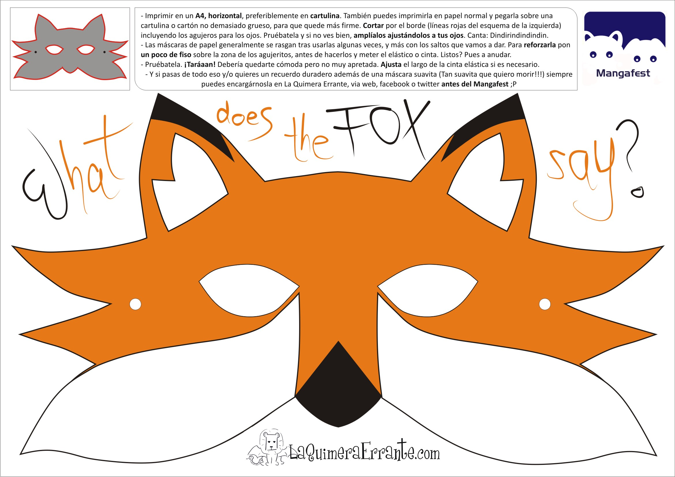 What Does The Fox Say? (Naranja)